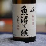 八海山純米酒魚沼で候(そうろう)を飲んだ