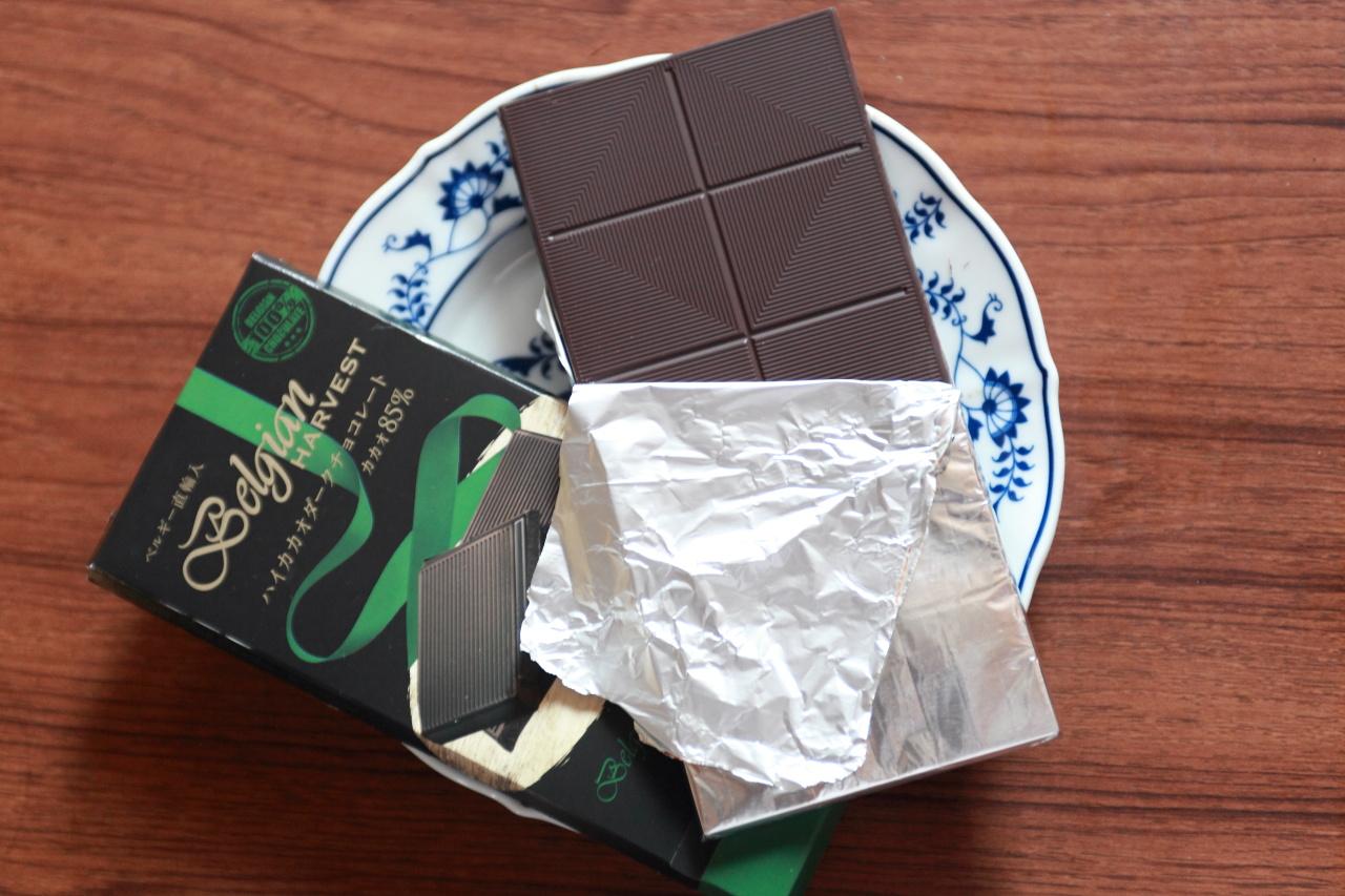 業務スーパー/ハイカカオダークチョコレートカカオ85%